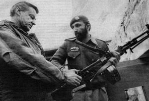 Zbig meets Osama in Pakistan, 1981