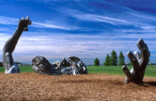 The Awakening-Seward Johnson-St. Louis, MO