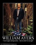 William Ayers American Flag poster