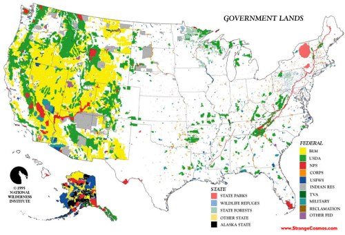 Gov Land Map