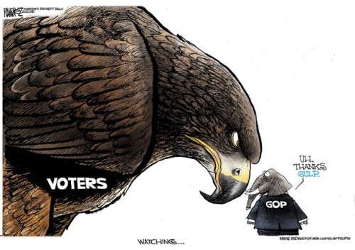 voters and republicans