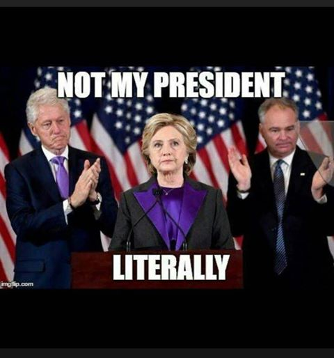 notmypresidentliterally